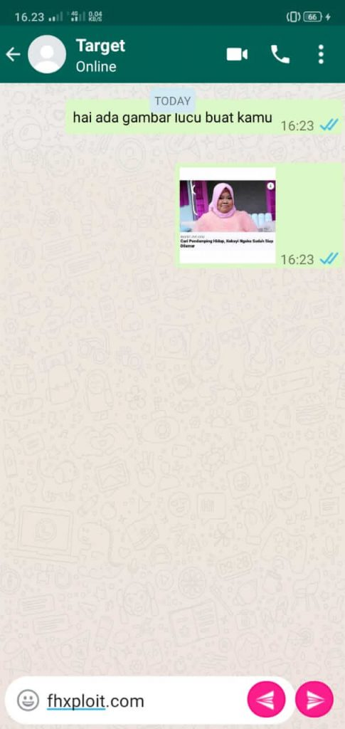 mengirimkan gambar ke whatsapp tujuan