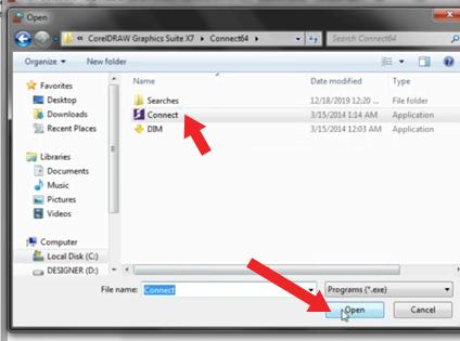 merubah file connect