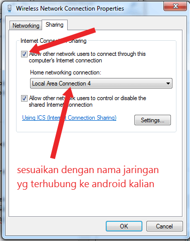 cara membuat hotspot di laptop windows