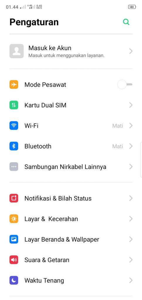 hotspot android tidak bisa connect ke laptop